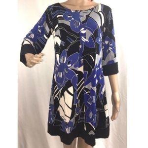 Vintage Inspired Shift Dress Medium